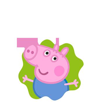 Peppa Pig cartoni animati rai yoyo perosnaggi characters George Pig