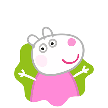 Peppa Pig Personaggi Peppa maialina cartoni animati Characters Suzy Sheep Suzy Pecora
