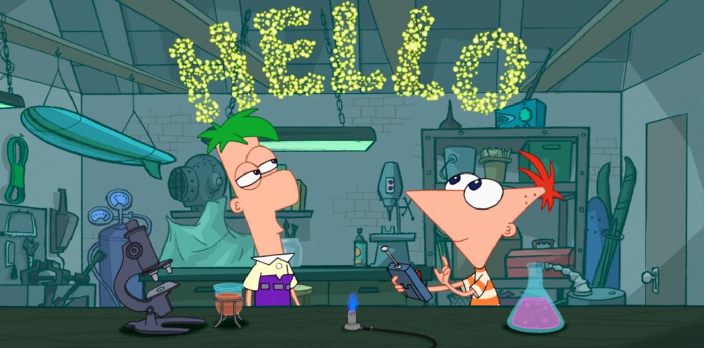 Phineas e ferb cartoni animati