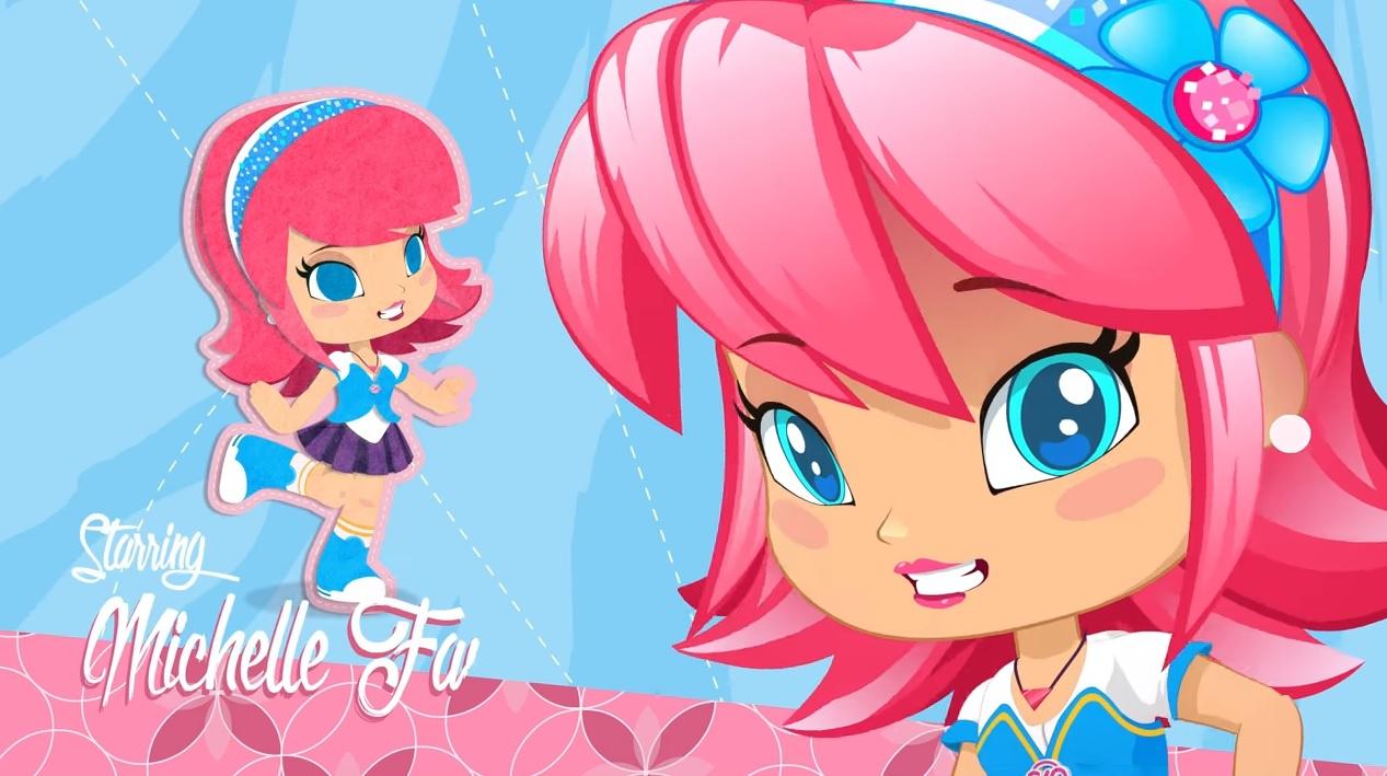 Piny personaggi cartone animato michelle