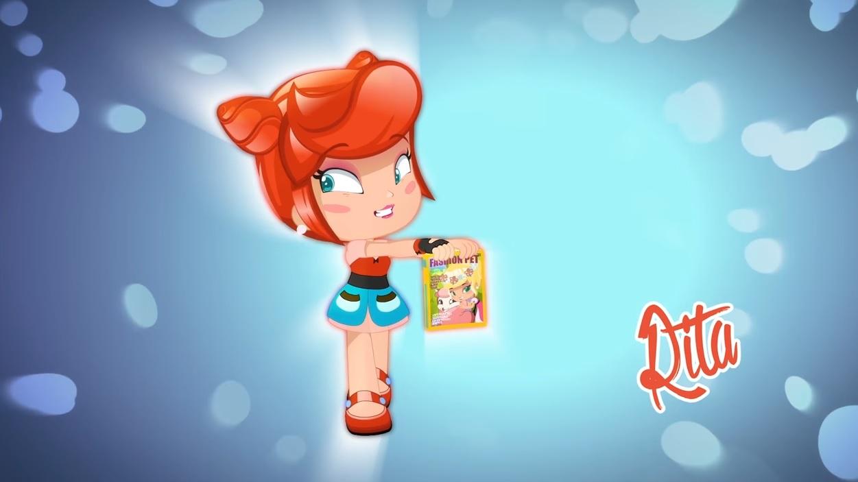 Piny personaggi cartone animato Rita