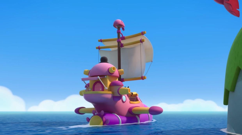 Pirata e Capitano - Pirata et Capitano - Personaggi - cartoni animati - cartone animato prescoalre - Rai Yoyo - Pirata & Capitano