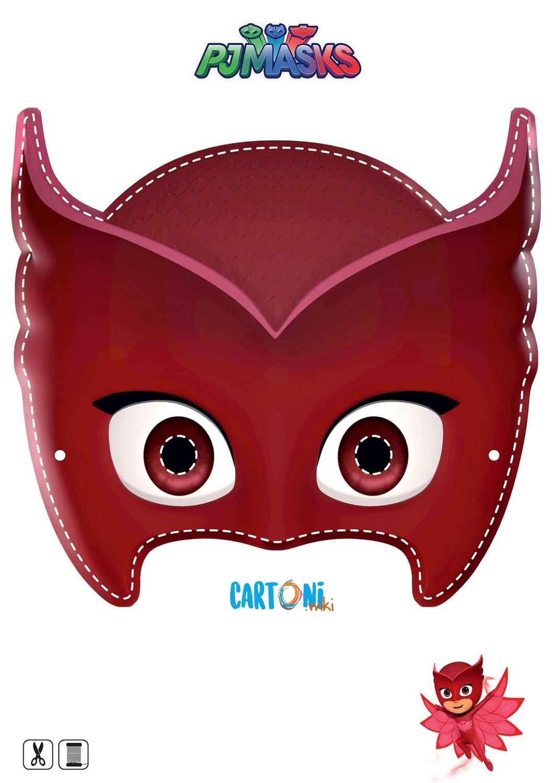 Owlette Printable Mask - Maschere