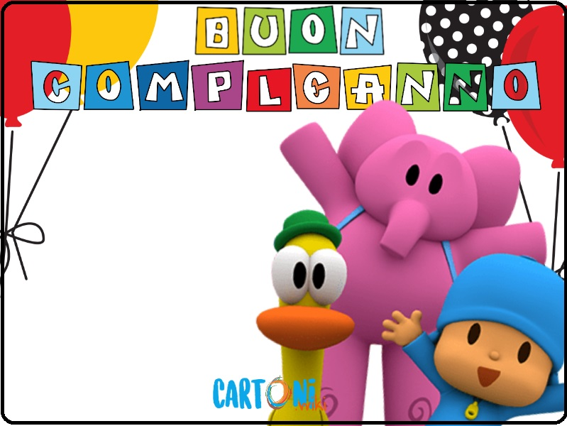 Auguri di Buon compleanno con Pocoyo - Buon compleanno