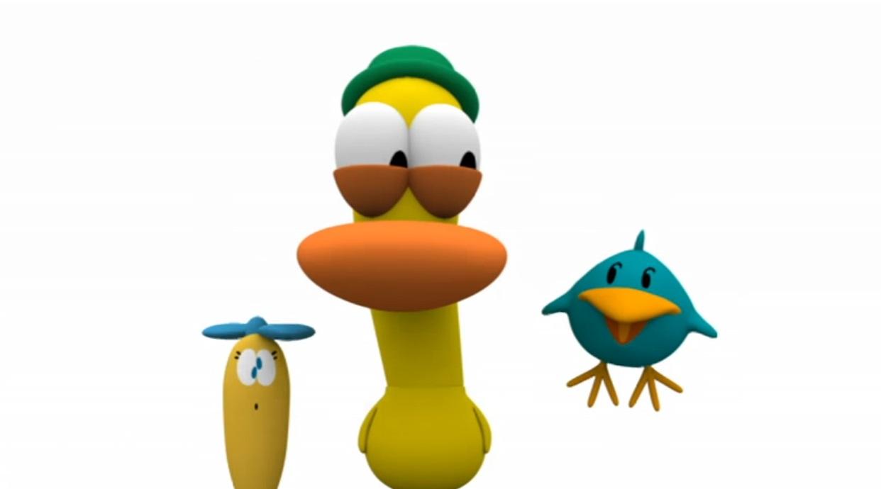 Pocoyo personaggi Pato papero giallo