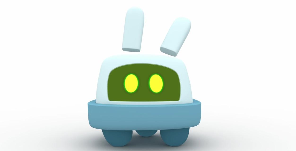 Pocoyo personaggi Pato Roberto robot e radio