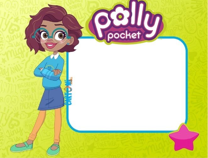 Invito festa compleanno Polly Pocket - Inviti compleanno bambini