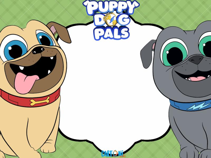 puppy dog pals - template
