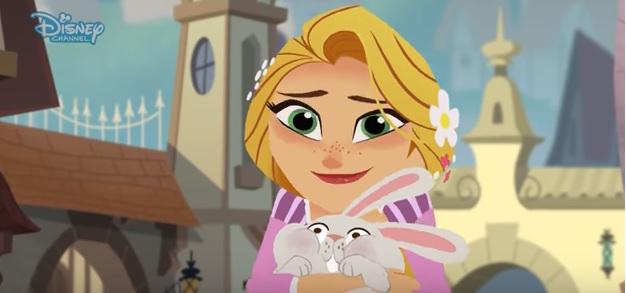 Rapunzel - I corti - Pace interiore - Cartoni animati Disney