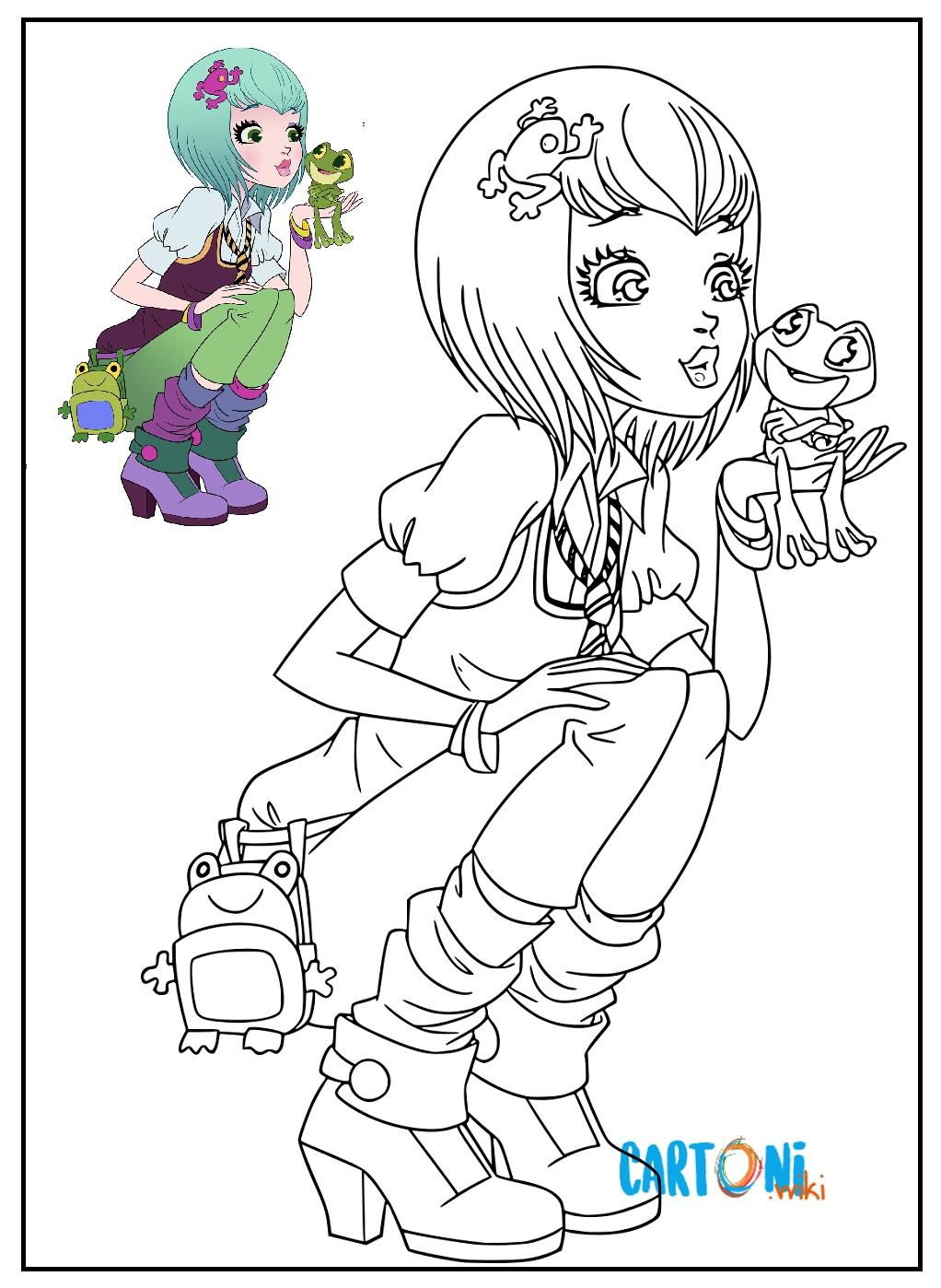 Regal Academy Disegno Joy Ranocchio Cartoni Animati