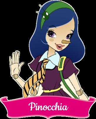 Pinocchia La Bestia Regal Academy Characters Personaggi Cartoni animati