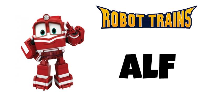 Roboto Trains personaggi Alf Cartoni animati cartoonito DeaKids cartone animato bambini prescolare