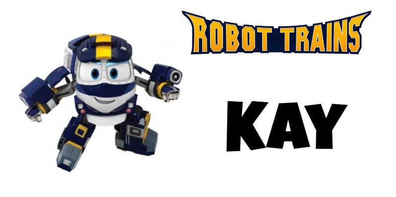Roboto Trains personaggi Kay Cartoni animati cartoonito DeaKids cartone animato bambini prescolare