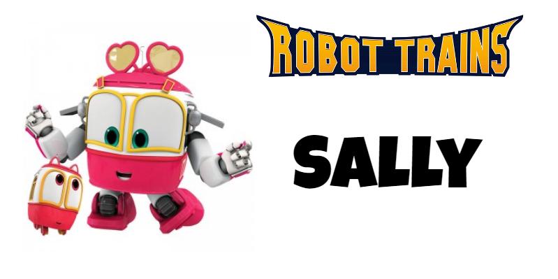 Roboto Trains personaggi Sally Cartoni animati cartoonito DeaKids cartone animato bambini prescolare