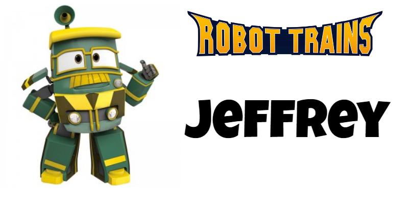 Roboto Trains personaggi Jeffrey Cartoni animati cartoonito DeaKids cartone animato bambini prescolare