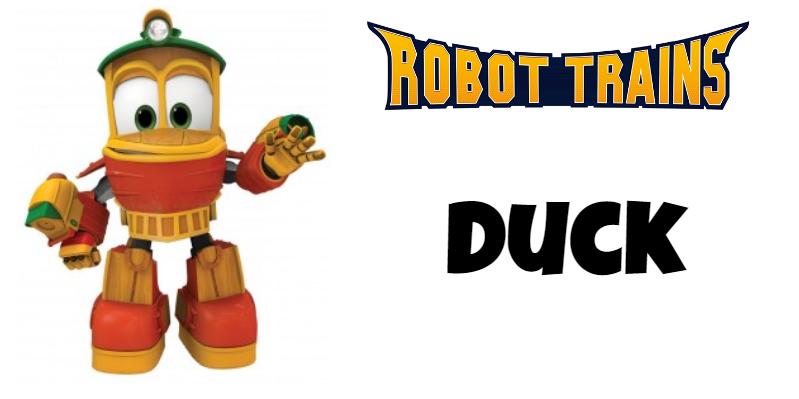 Roboto Trains personaggi Duck Cartoni animati cartoonito DeaKids cartone animato bambini prescolare