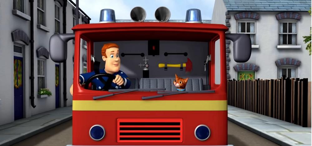 Sam il pompiere - Cartoni animati