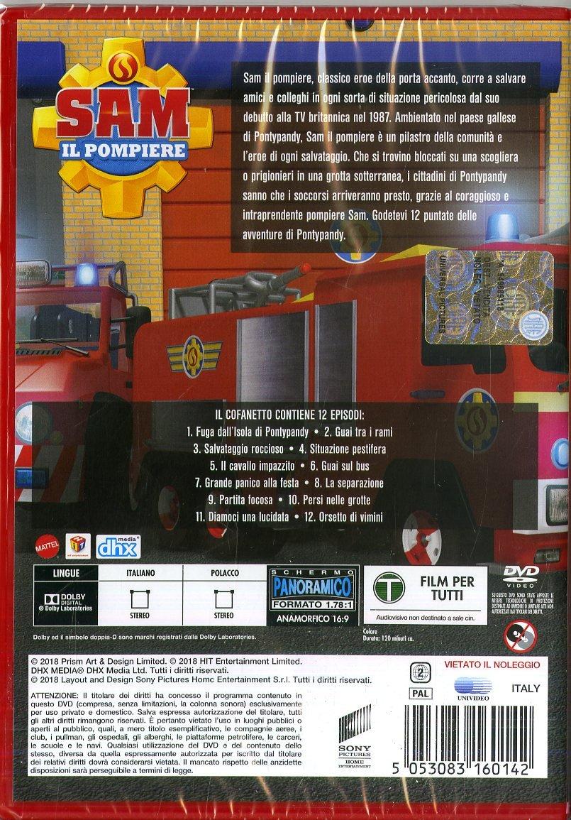 Sam il pompiere avventure a Pontypandy raccolta episodi DVD acquista online