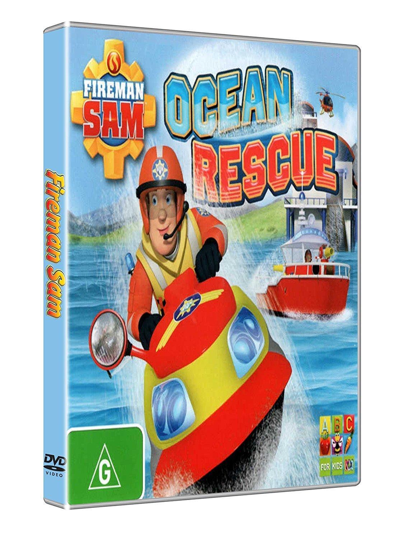 Sam il pompiere salvataggio nell'oceano - Cartoni animati
