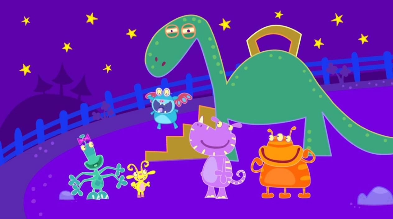 School of Roars - Scuola di mostri - Cartoni animati Rai Yoyo - cartone prescolare - cartone prescolare