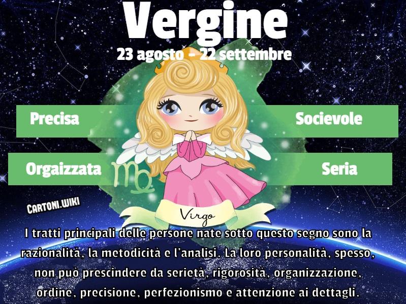 Vergine ( 23 agosto - 22 settembre ) - Cartoni animati