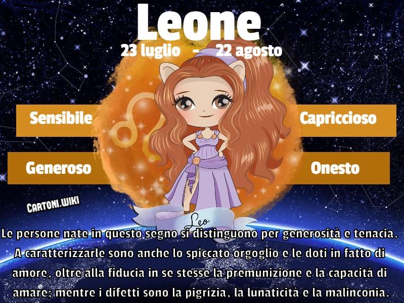 Leone ( 23 luglio - 22 agosto ) - Cartoni animati