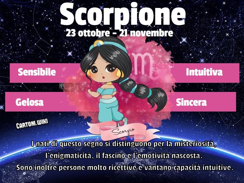 Scorpione ( 23 ottobre - 21 novembre ) - Cartoni animati