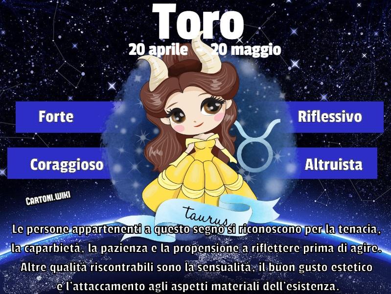 Toro ( 20 aprile - 20 maggio ) - Cartoni animati