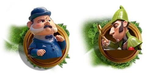 Sherlock Gnomes persoanggi Watson e Sherlock film d'animazione 2018 Paramount Animation gnomi da giardino
