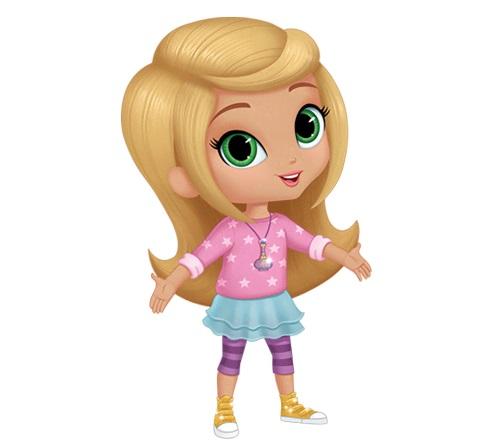 Cartoni animati Shimmer e Shine personaggi Leah