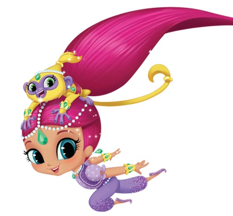 Shimmer and Shine personaggi del cartone animato - Shimmer