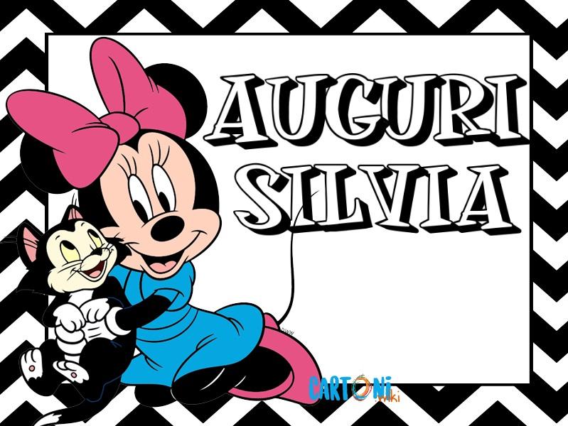 Auguri Silvia - Cartoni animati