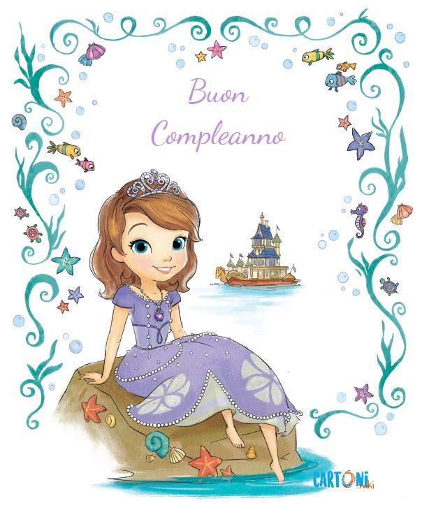 Sofia la principessa Buon Compleanno - Cartoni animati