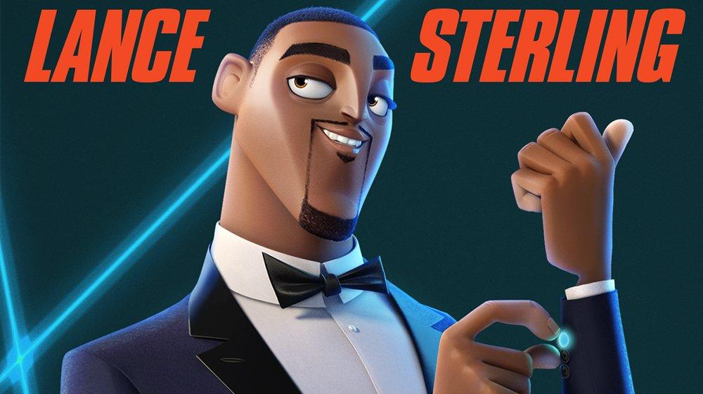 Lance Sterling Spie sotto copertura film di animazione 2019 Personaggi Trama Spies in  Disguise characters