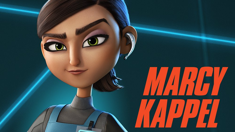 Marcy Kappel Spie sotto copertura film di animazione 2019 Personaggi Trama Spies in  Disguise characters
