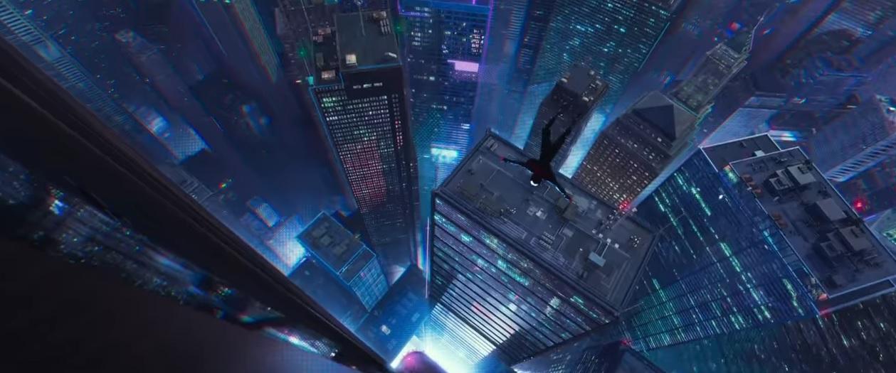 Spider Man un nuovo universo - Uomo ragno - Film di animazione 2018 - Natale 2018 - Sony Pictures - Spiderman 2018 - Nuovo film Spiderman