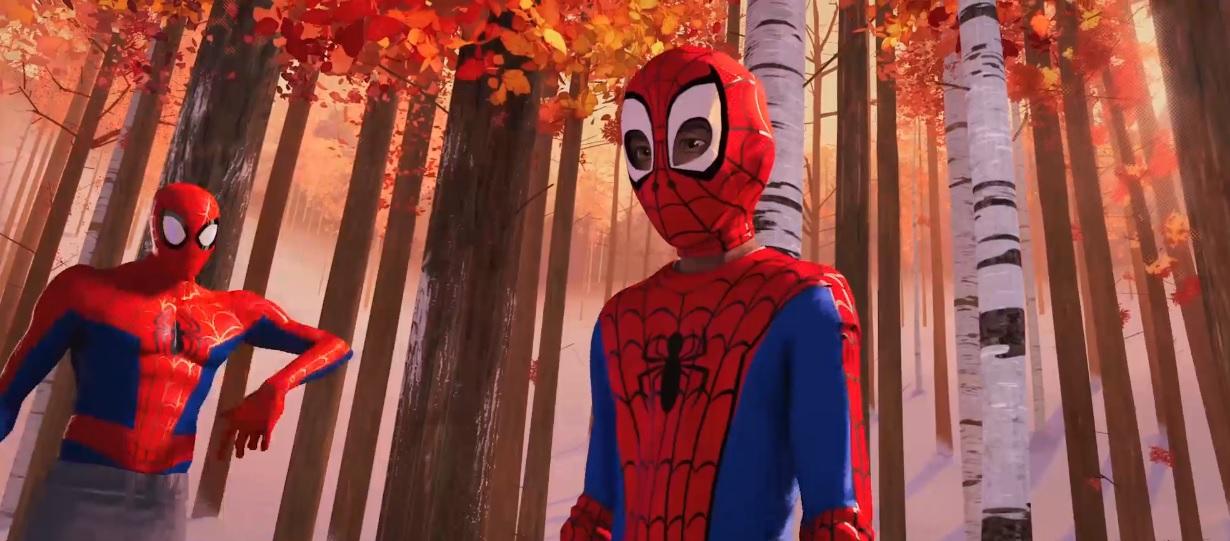 Spiderman 2018 le immagini di miles morales cartoni animati