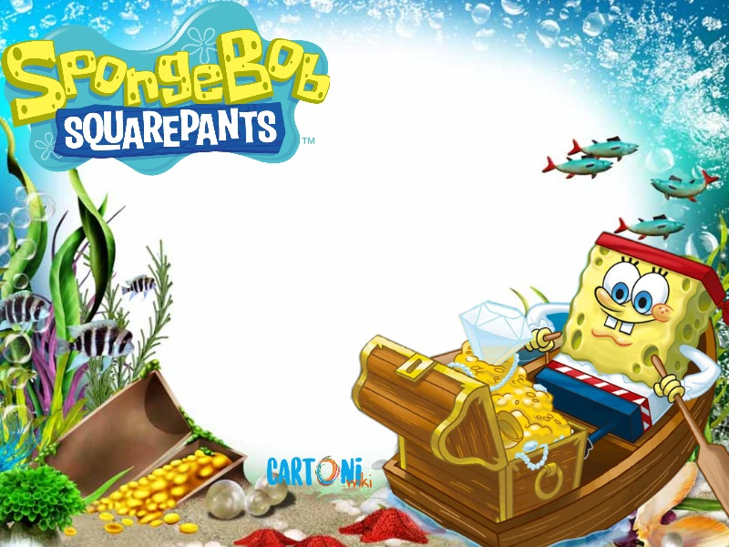 Biglietto auguri fai da te Spongebob - Biglietti di auguri
