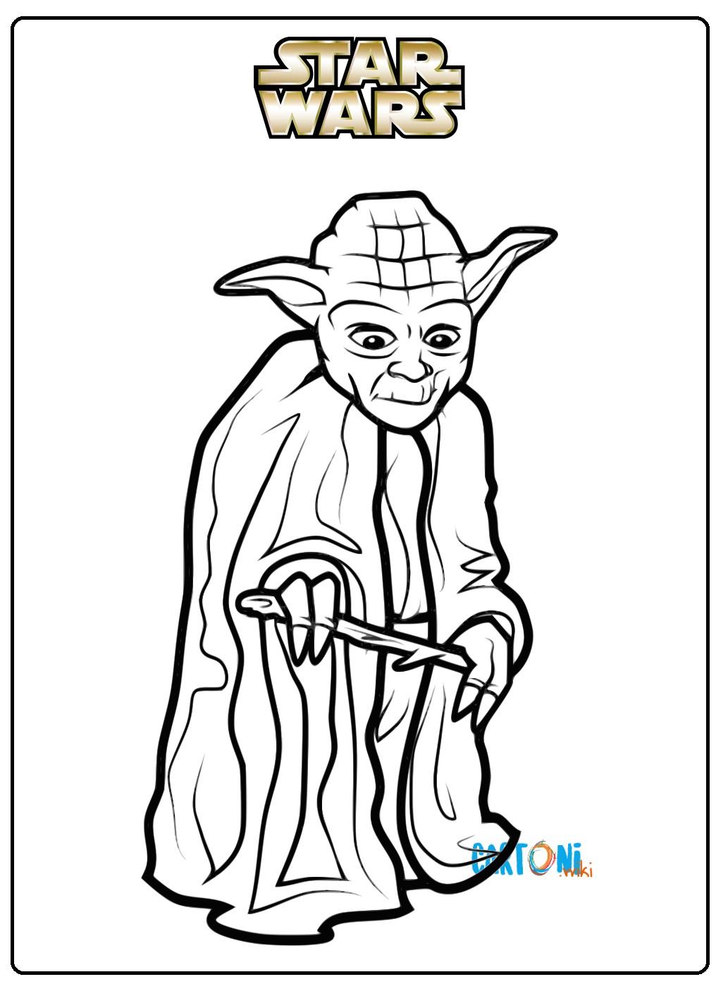 Disegno Di Il Maestro Yoda Di Lego Star Wars Da Colorare Disegni