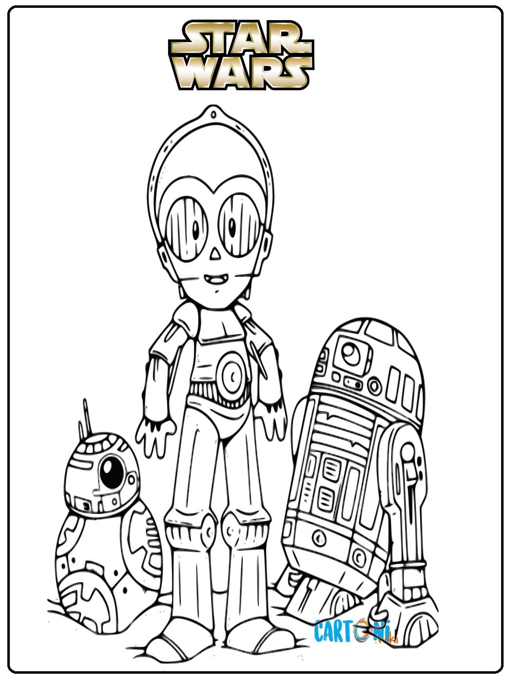 Star Wars Disegni Per Bambini Cartoni Animati
