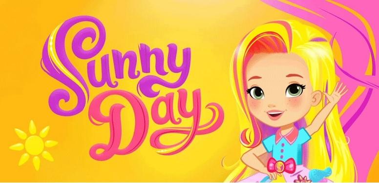 Sunny day cartone animato personaggi Sunny la parrucchiera proprietaria salone parrucchiere