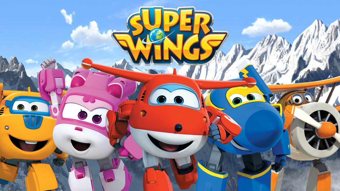 Super wings cartoni animati