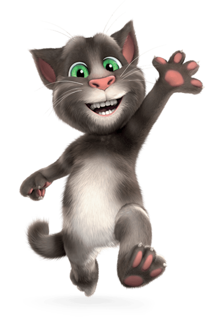 Talking Tom and Friends - Personaggi - Tom - App Talking Tom - Cartoni animati - Gatto parlante