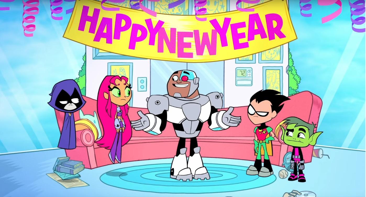 Teen Titans go Happy new year