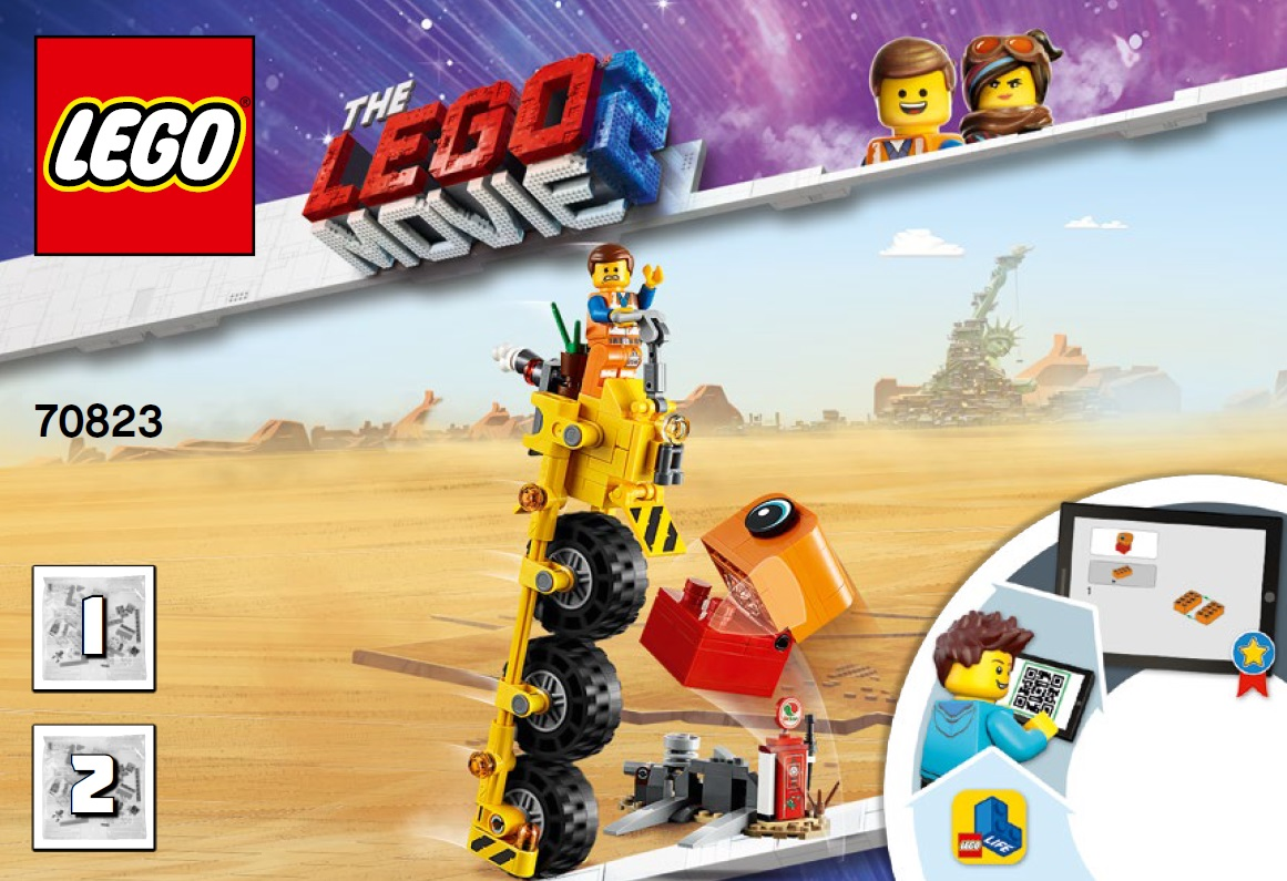The lego movie 2 Il triciclo di Emmet