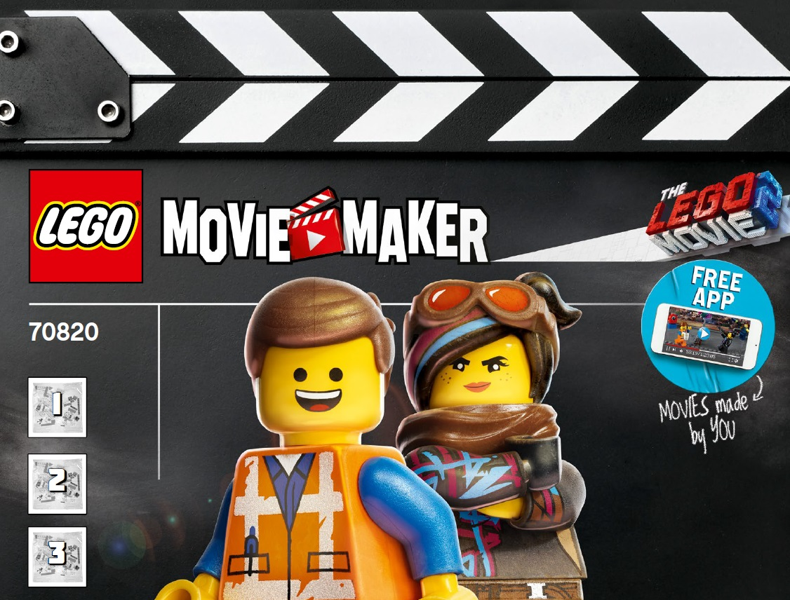 The Lego movie 2 Costruzioni Movie Maker  - Cartoni animati