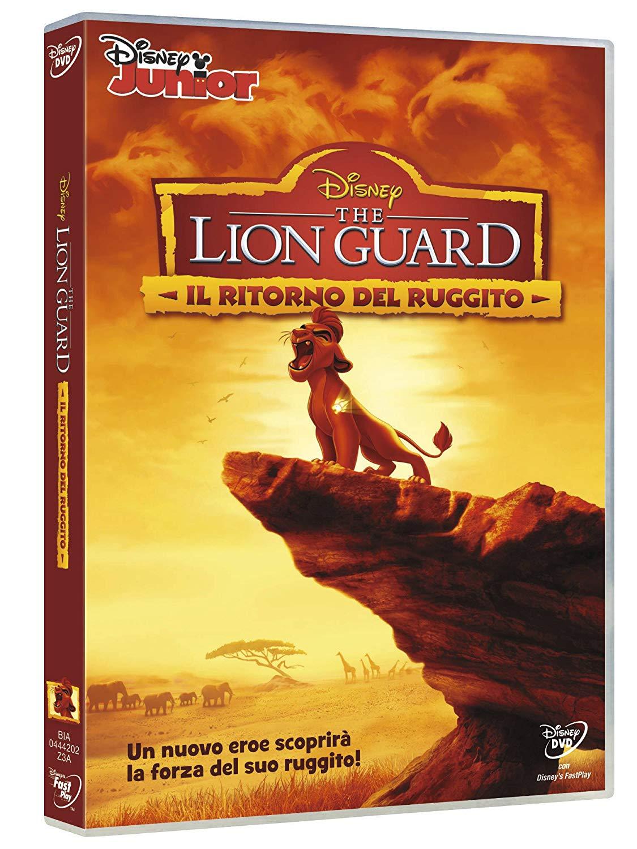The Lion Guard DVD il ritorno del ruggito episodio pilota - cartoni animati home video