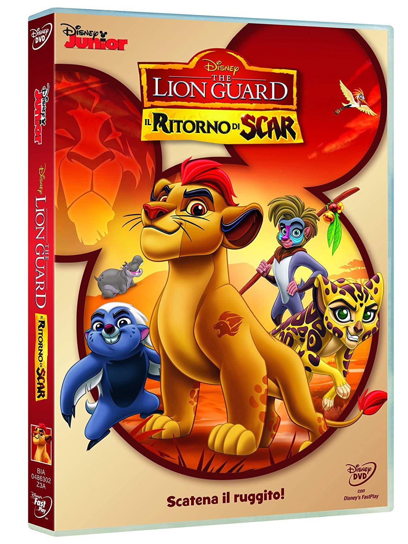 The Lion Guard DVD il ritorno di Scar - cartoni animati home video