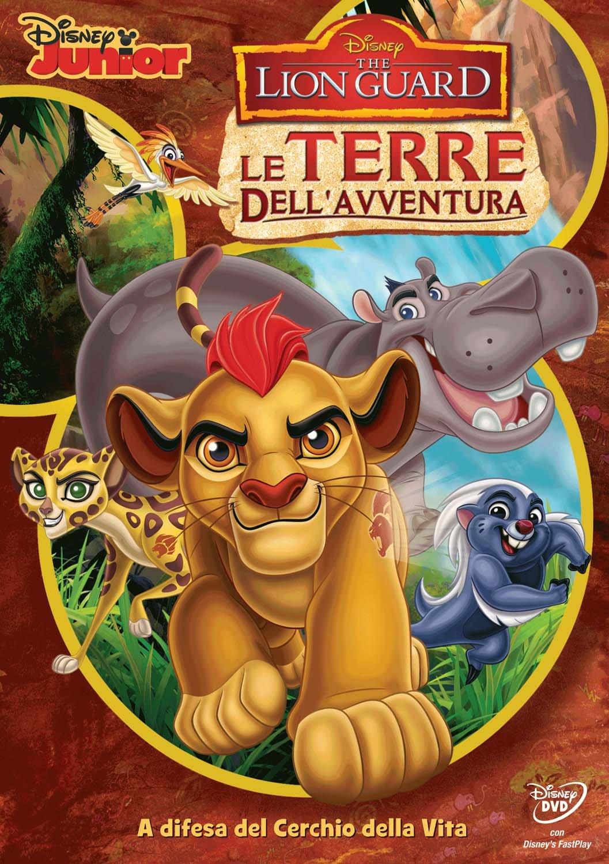 The Lion Guard DVD le terre dell'avventura - cartoni animati home video