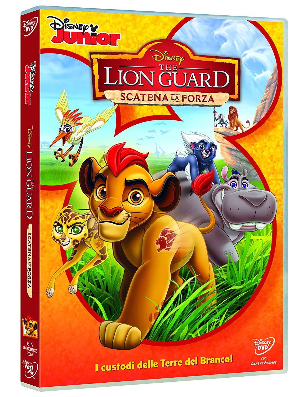 The Lion Guard DVD scatena la forza - cartoni animati home video